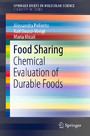 Food Sharing - Chemical Evaluation of Durable Foods