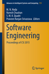 Software Engineering - Proceedings of CSI 2015